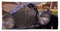 1932 Packard Phaeton Beach Towel