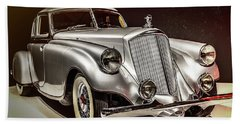 1933 Pierce-arrow Silver Arrow Beach Towel by Wade Brooks