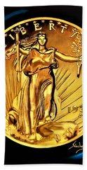 1933 St. Gaudens Beach Towel by Manuel Sanchez