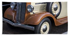 1936 Gmc Pickup Truck 1 Beach Towel
