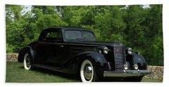 1937 Cadillac V16 Fleetwood Stationary Coupe Beach Sheet