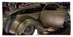 Beach Sheet featuring the photograph 1937 Ford Coupe by Randy Scherkenbach