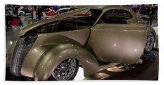 1937 Ford Coupe Beach Sheet by Randy Scherkenbach