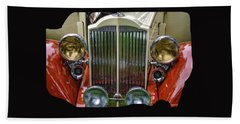 Beach Towel featuring the photograph 1928 Classic Packard 443 Roadster by Thom Zehrfeld
