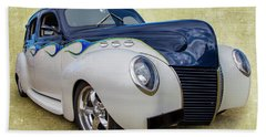 Beach Towel featuring the photograph 1939 Ford by Keith Hawley