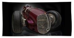 1939 Maserati 8ctf Indy Racer Beach Towel
