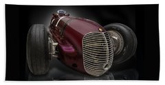 1939 Maserati 8ctf Indy Racer Beach Sheet