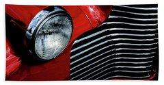 1940 Chevy 2-door Beach Towel