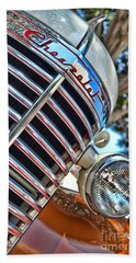 1940 Chevy Truck Beach Towel by Jason Abando