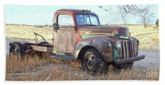 1940s Ford Farm Truck Beach Sheet