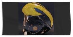 1940s Leather Wolverine Helmet Beach Sheet