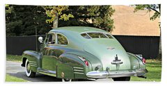 1941 Cadillac Coupe Beach Towel
