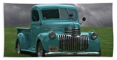 Beach Towel featuring the photograph 1941 Chevrolet Pickup Truck by Tim McCullough