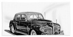 1941 Dodge Town Sedan Beach Sheet by Jack Pumphrey