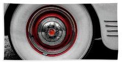 1941 Packard Convertible Wheels Beach Towel