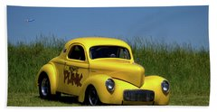 1941 Willys Coupe Beach Towel