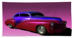 1947 Cadillac Radical Custom Beach Towel