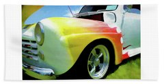 1947 Ford Coupe Beach Towel
