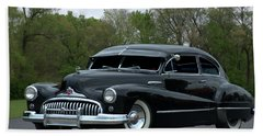 Beach Sheet featuring the photograph 1948 Buick by Tim McCullough