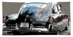 1948 Fastback Cadillac Beach Towel