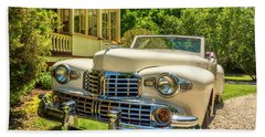 1948 Lincoln Convertible  Beach Sheet