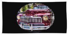 1948 Mercury Convertible Beach Towel