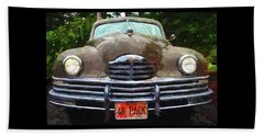 1948 Packard Super 8 Touring Sedan Beach Towel