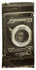 1949 Century Graphic Vintage Camera Beach Sheet
