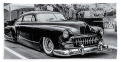 1951 Chevy Kustomized  Beach Towel by Ken Morris