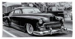 1951 Chevy Kustomized  Beach Sheet by Ken Morris