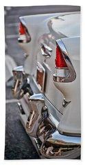 1955 Chevrolet Belair Tail Lights Beach Towel