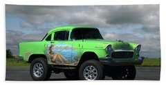 1956 Chevrolet Shorty Beach Towel