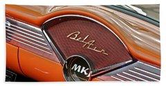 1956 Chevy Bel Air Dash Beach Sheet