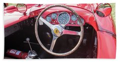 Beach Sheet featuring the photograph 1956 Ferrari 290mm - 4 by Randy Scherkenbach