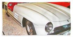 1956 Mercedes Benz Beach Towel