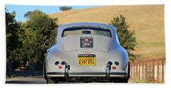 1956 Porsche 356a Rear Beach Towel