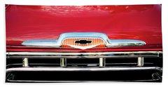 1957 Chevy Pick Up Truck 3100 Series 005 Beach Towel