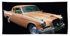1957 Studebaker Golden Hawk Digital Oil Beach Sheet