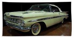 1959 Chevy Impala Convertible Beach Sheet