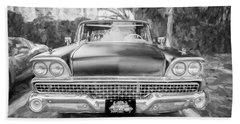 1959 Ford Galaxy C116 Beach Towel