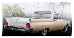 1959 Ford Ranchero 1st Generation Beach Towel