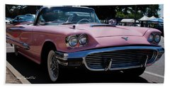 1959 Ford Thunderbird Convertible Beach Towel