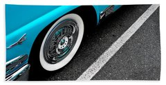 Beach Sheet featuring the photograph 1958 Ford Crown Victoria by M G Whittingham