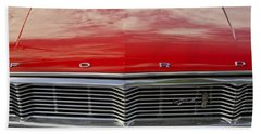 1960s Ford Galaxie Beach Towel