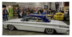 Beach Sheet featuring the photograph 1962 Buick Skylark by Randy Scherkenbach