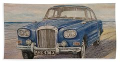 1963 Bentley Continental S3 Coupe Beach Towel