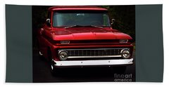 Beach Sheet featuring the photograph 1964 Chevrolet Pick Up by Baggieoldboy