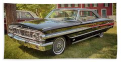 Beach Towel featuring the photograph 1964 Ford Galaxie 500 Xl by Susan Rissi Tregoning