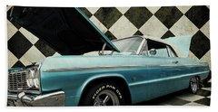 1965 Chevy Impala Beach Towel