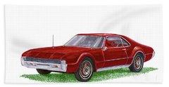 1966 Oldsmobile Toronado Beach Sheet by Jack Pumphrey